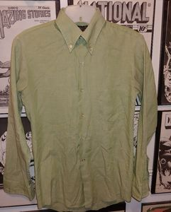 Vintage 70s Button Down Dress Shirt